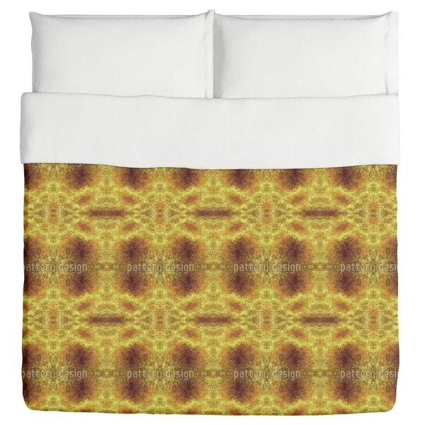 Desert Gold Duvet Cover