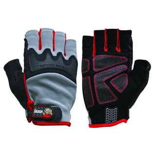 Big Time Products 22101-23 Grease Monkey High Dexterity Pro Fingerless Gloves