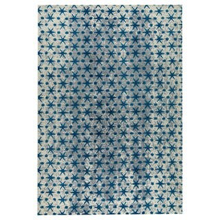 M.A.Trading Hand-woven Modesto Blue (8'x10')