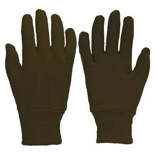 Big Time Products 9116-26 True Grip Brown Jersey Gloves With Mini Dots (2 options available)