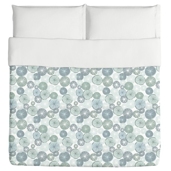 Frosty Lemon Duvet Cover
