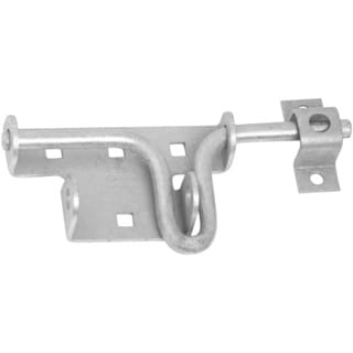 Stanley Hardware 760816 Mechanically Galvanized Heavy Duty Slide Action Gate Bolt