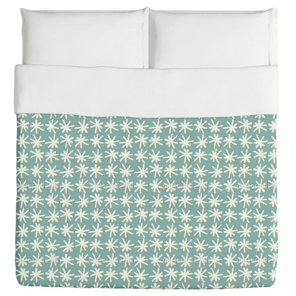Snow in Smaland Duvet Cover