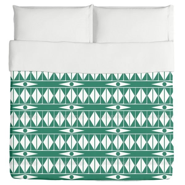 Ethno Triangles Duvet Cover