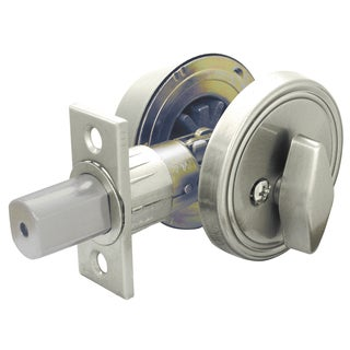 Ultra Hardware 43625 Satin Nickel Single Cylinder Deadbolt