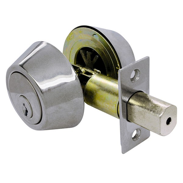 Ultra Hardware 43716 Stainless Steel Double Cylinder Deadbolt Lockset