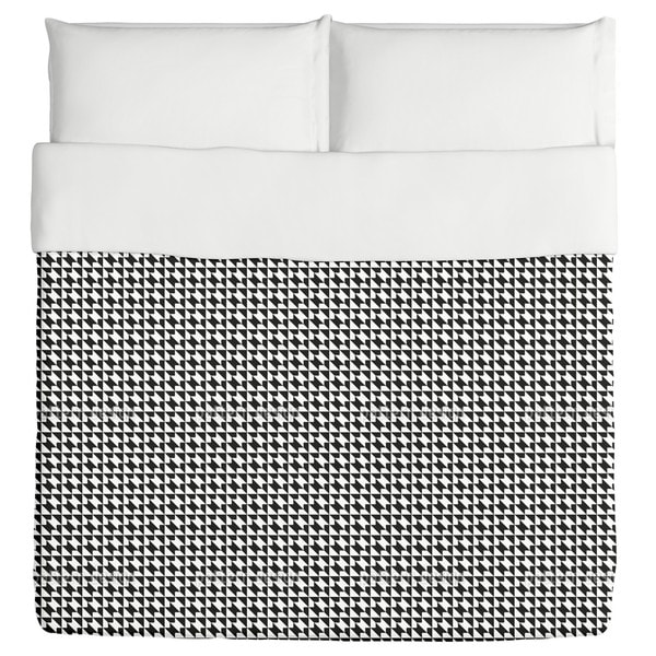 Houndstooth Geometry Duvet Cover