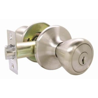 Ultra Hardware 43973 Stainless Steel Entry Lockset Ultra Security Series