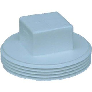"""Genova Products 41840 4"""" Styrene Clean-Out Plug"""
