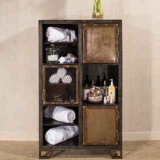 Hillsdale Furniture's Bridgewater Wood 3-door 3-shelf Display Curio