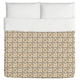 Morocco Brown Duvet Cover