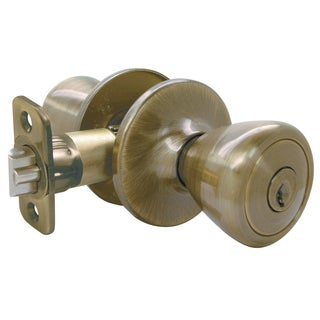 Ultra Hardware 44042 Antique Brass With Eternity Finish Entry Lockset The Ritten
