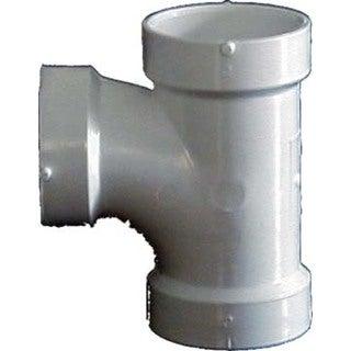 "Genova Products 71130 3"" Sch. 40 PVC-DWV Sanitary Tees"