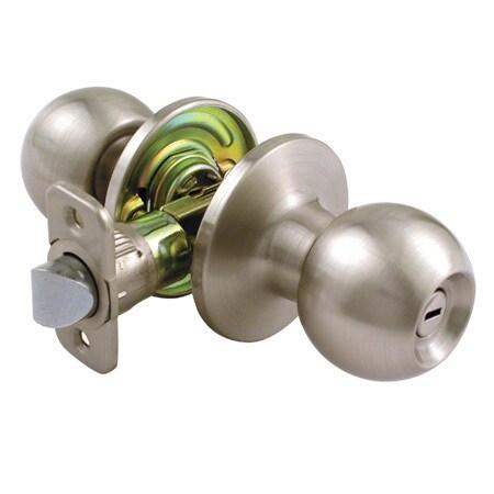 Ultra Hardware 44195 Satin Nickel The Chestnut Hill Bed & Bath Lockset