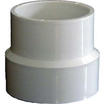 "Genova Products 71544 4"" Sch. 40 PVC-DWV Sewer Pipe Adapt..."