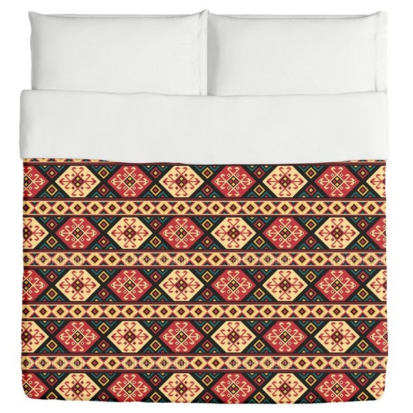 Colorful Kilim Duvet Cover