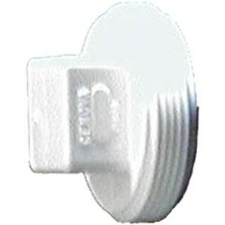 "Genova Products 71840 4"" Sch. 40 PVC-DWV Threaded Plugs"