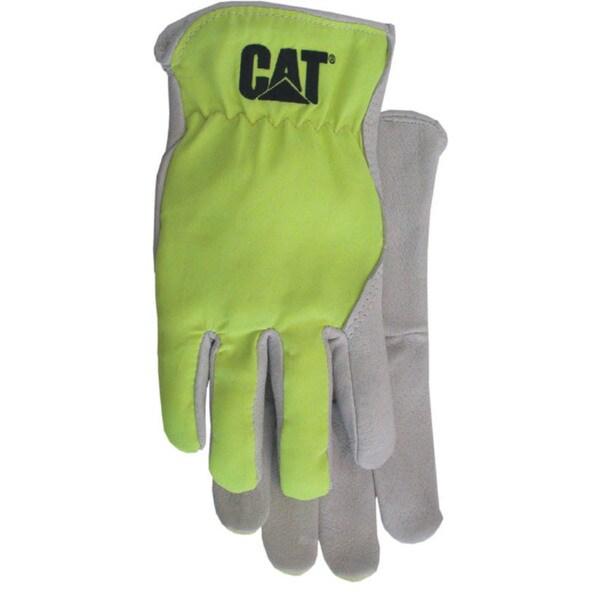 Cat Gloves CAT012109L Large Green Pigskin Gloves