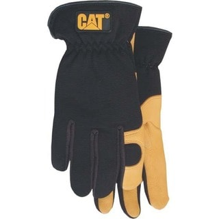 Cat Gloves CAT012205J Jumbo Premium Leather Gloves With Gel Pad In Palm