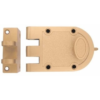 Ultra Hardware 44860 Jimmyproof Lock With Shutterguard