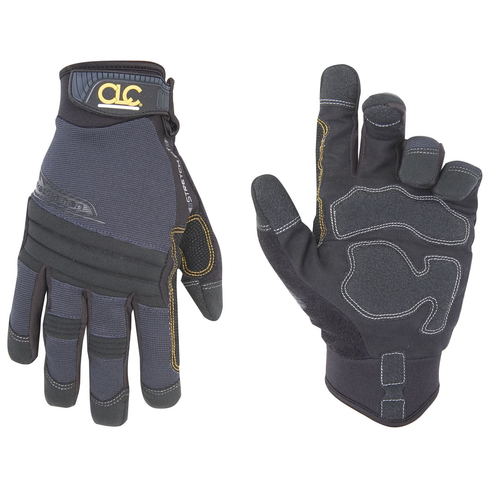 CLC Work Gear 145L Slate Blue & Black Tradesman Gloves (L...