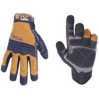 CLC Work Gear 160L Mocha Brown & Black Landscaper Gloves
