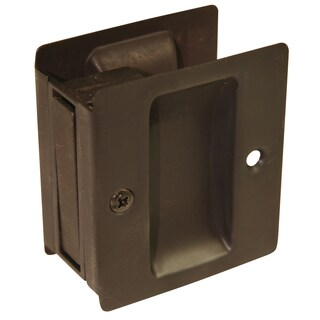 Ultra Hardware 49602 Oil Rubbed Bronze Passage Pocket Door Lock
