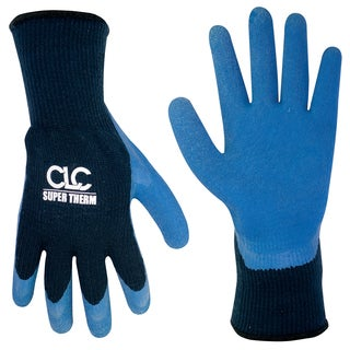 CLC Work Gear 2032L Large Super Therm Latex Dip Gripper Gloves