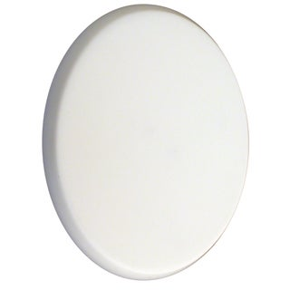 "Ultra Hardware 57700 3"" White Door Knob Protector"