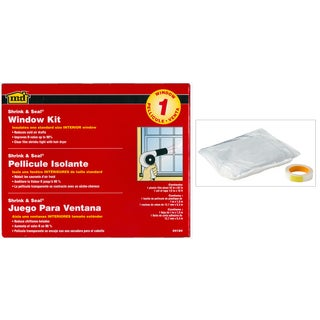 "M-D 04184 64"" X 40"" Shrink & Seal Indoor Window Kits"