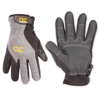 CLC Work Gear 2075L Fleece Lined Gloves With Reinforced PVC Palm