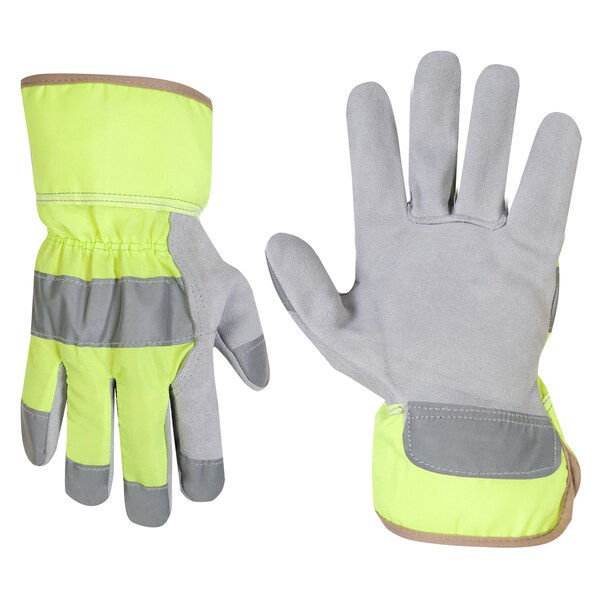 CLC Work Gear 2150L Hi-Viz Safety Cuff Work Gloves