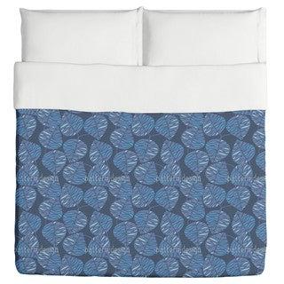 Marine Blue Duvet Cover
