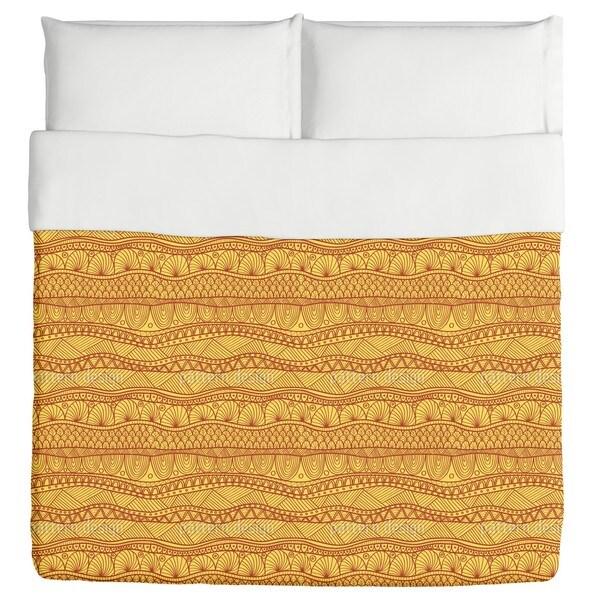 Sunny Ethno Stripes Duvet Cover