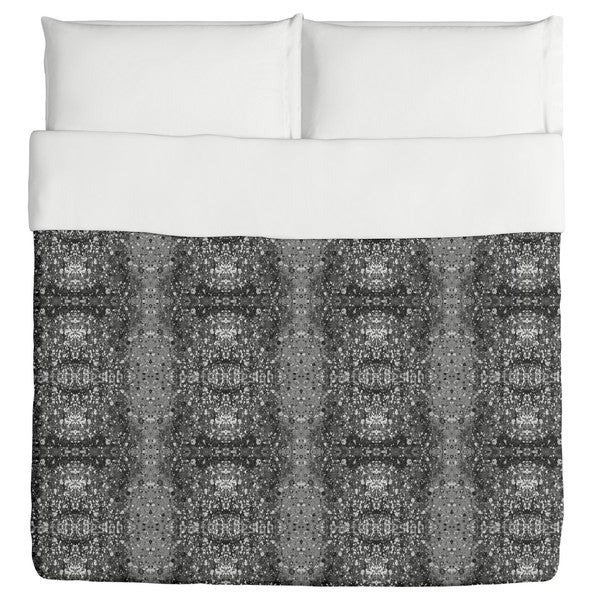 Stained Grey Duvet Cover