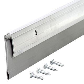 "M-D 05587 36"" White Self-Adhesive Door Sweep"