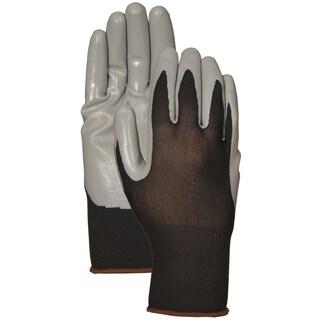 Atlas Glove C3701L Gray Nitrile Palm Gloves