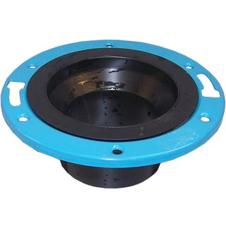 """Genova Products 85155 4"""" Closet Flange With Metal Ring"""