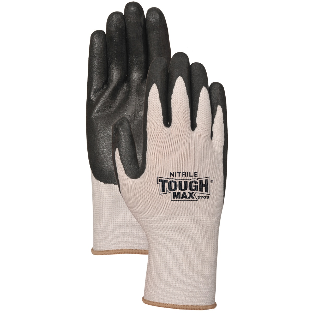 Atlas Glove C3703L Nitrile With Cool Max Gloves (Medium)
