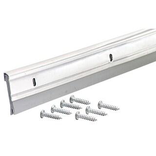 """M-D 05769 36"""" White Heavy Duty Aluminum & Vinyl Door Sweep"""