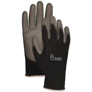 Bellingham Glove C2601BKL Black Reinforced Fingertip Polyurethane Palm Gloves