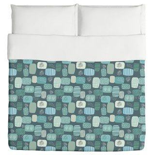 Patches in Blue Duvet Cover