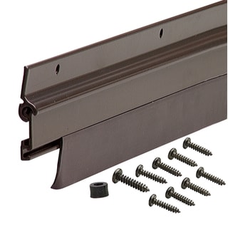 """M-D 08102 36"""" Aluminum Low Boy Thresholds With Vinyl Seal Aluminum"""