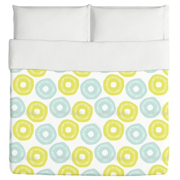 Sunshine Blue And Yellow Duvet Cover