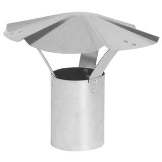 """Imperial Manufacturing Group GV0590 7"""" Galvanized Rain Cap"""
