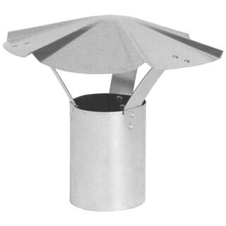 """Imperial Manufacturing Group GV0591 8"""" Galvanized Rain Cap"""