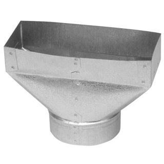 """Imperial Manufacturing Group GV0704-C 4"""" X 10"""" X 6"""" Galvanized Universal Boot"""