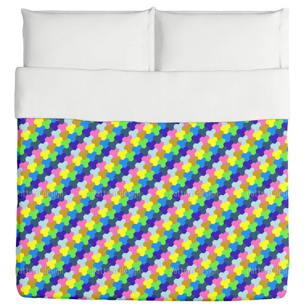 Play with Hexagons Duvet Cover