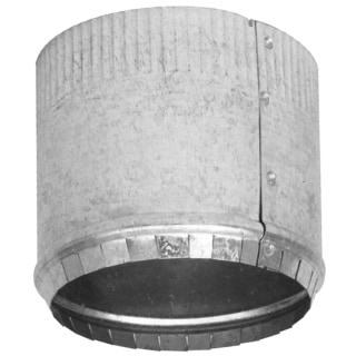 """Imperial Manufacturing Group GV0843 6"""" Galvanized Round Crimped Starting Collar"""