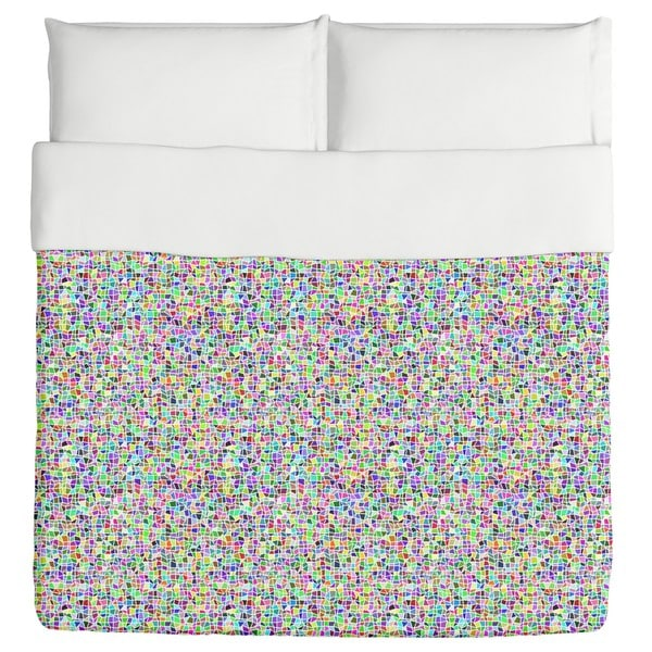 Freestyle Mosaic Duvet Cover